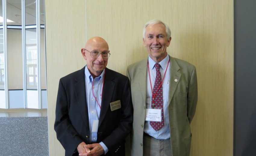 Bob Mandell and Dr Dale Corbette | Stroke Recovery Foundation
