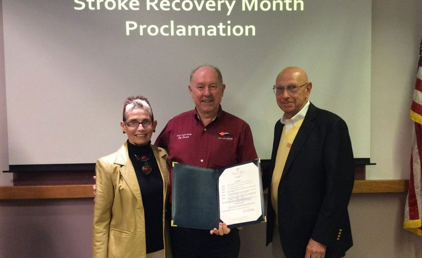 Bob Mandell on Stroke Recovery Month Proclamation | Stroke Recovery Foundation