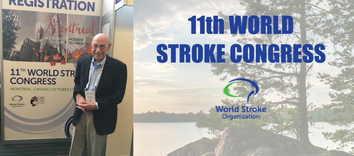 Stroke Recovery Foundation Bob Mandell Presenting at the World