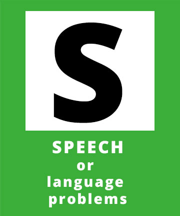 S for SPEECH or language problems, a possible sign of a stroke | Stroke Recovery Foundation